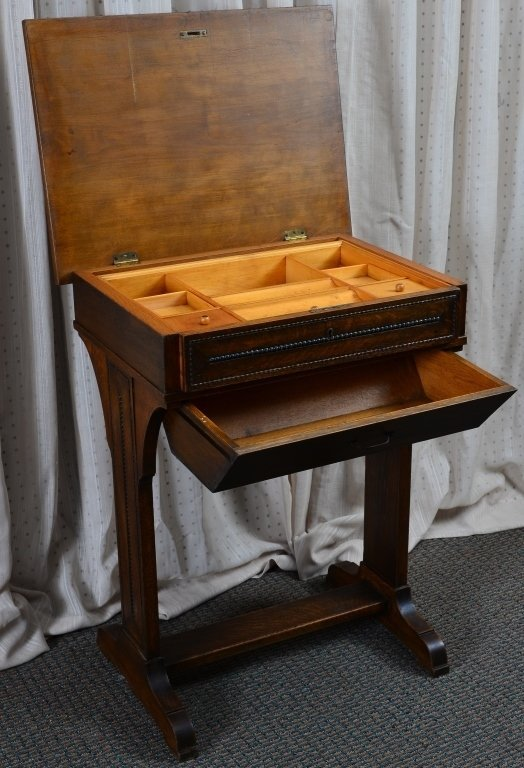 Victorian Sewing Cabinet - 3