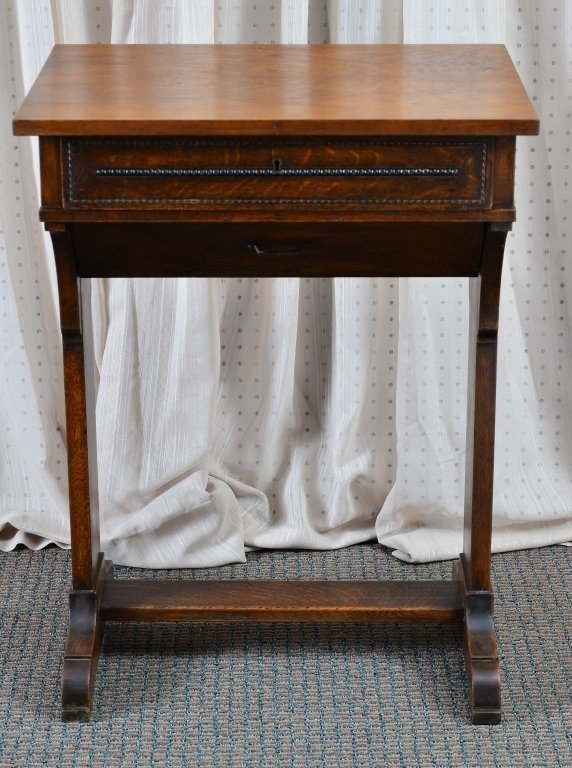 Victorian Sewing Cabinet - 5