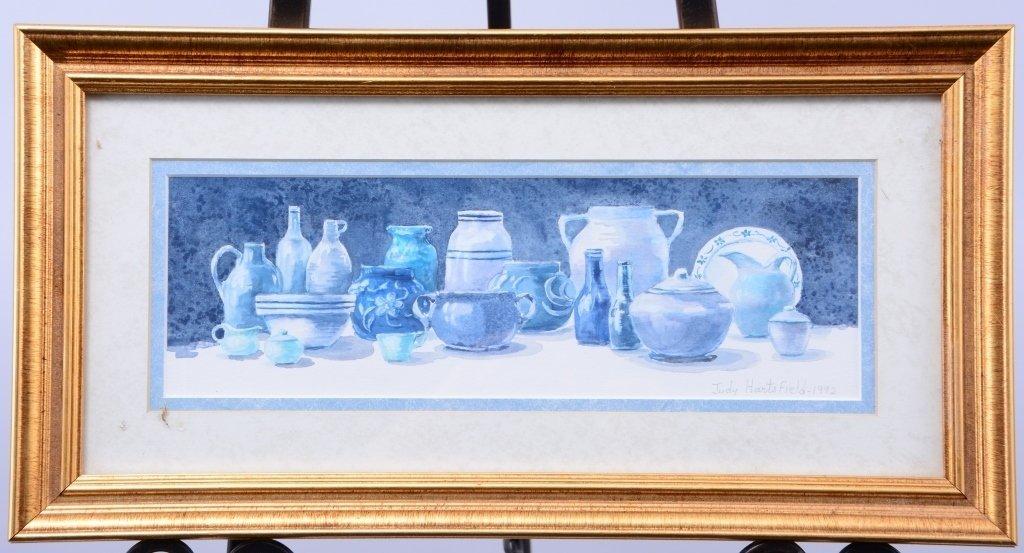 Judy Hartsfield Watercolor Still Life