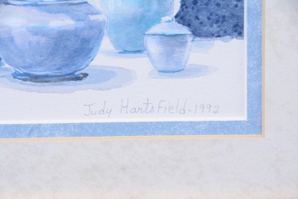 Judy Hartsfield Watercolor Still Life - 2