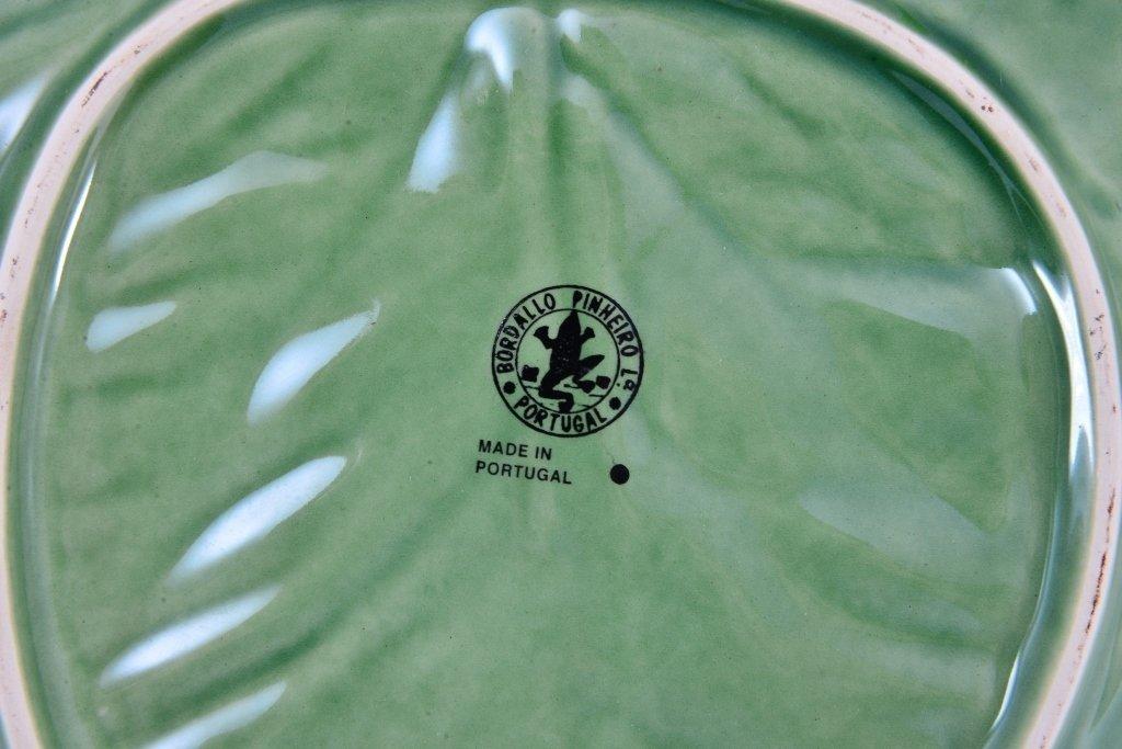 Portugal Cabbage Leaf Servers & Fitz & Floyd - 5