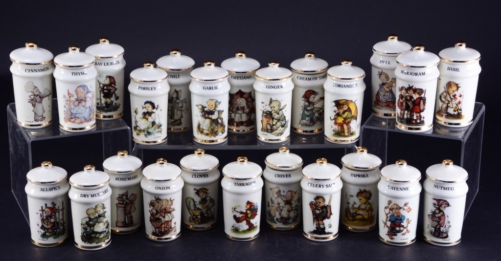 24 Hummel Spice Jars