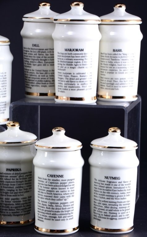 24 Hummel Spice Jars - 5