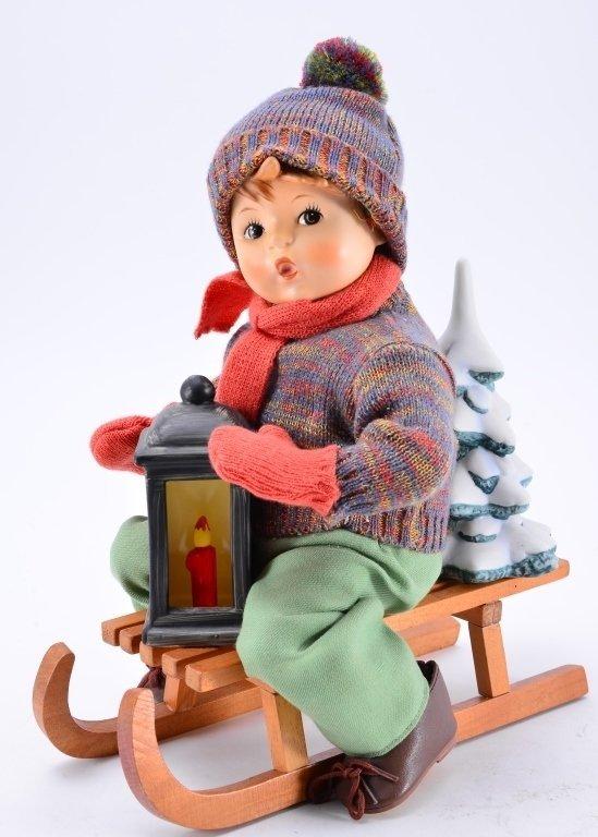 Hummel Ride Into Christmas Doll