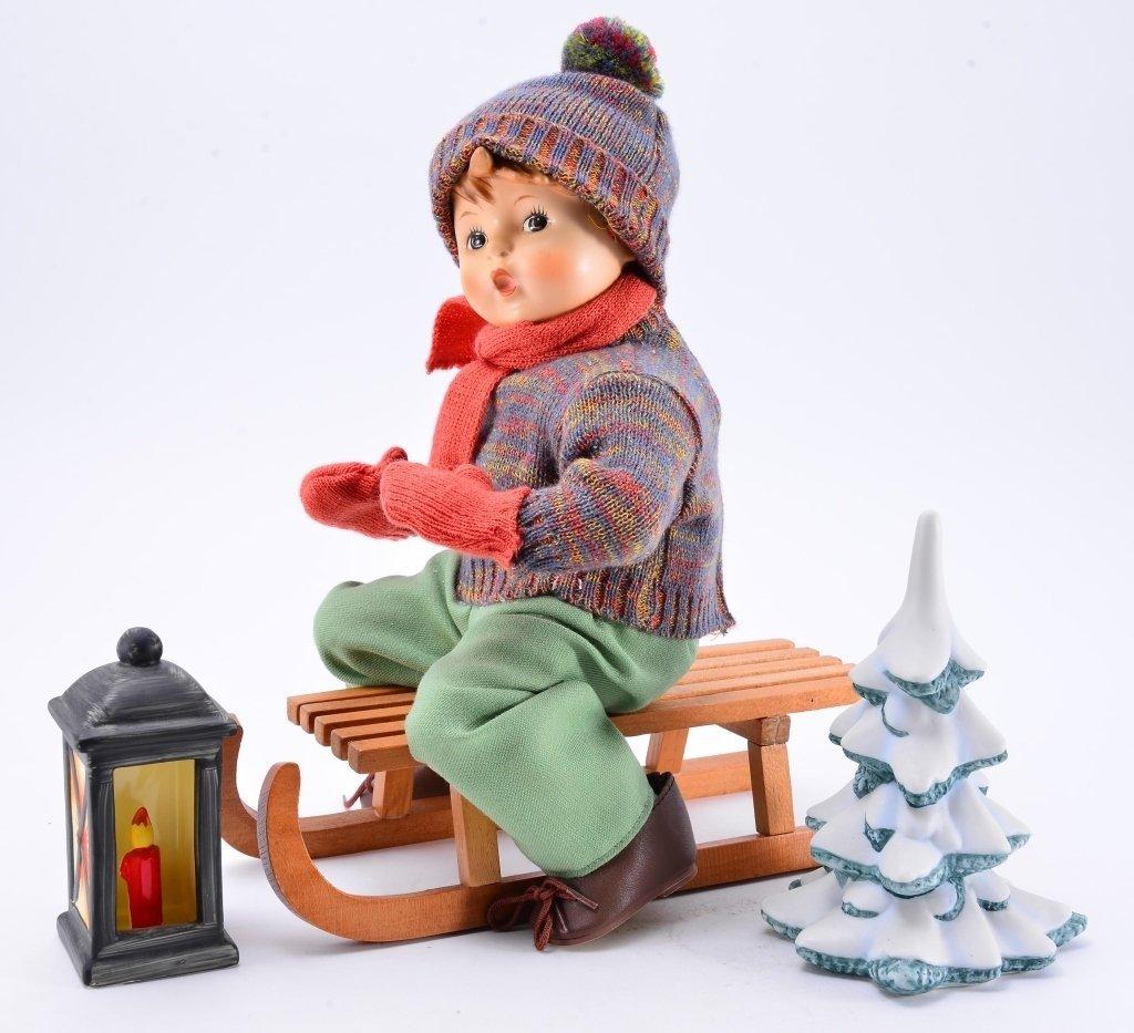Hummel Ride Into Christmas Doll - 2