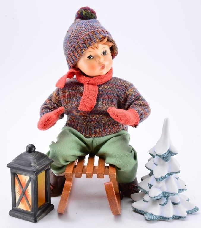 Hummel Ride Into Christmas Doll - 3
