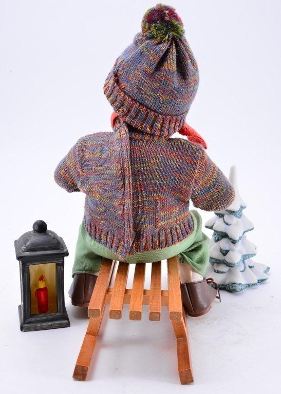 Hummel Ride Into Christmas Doll - 4