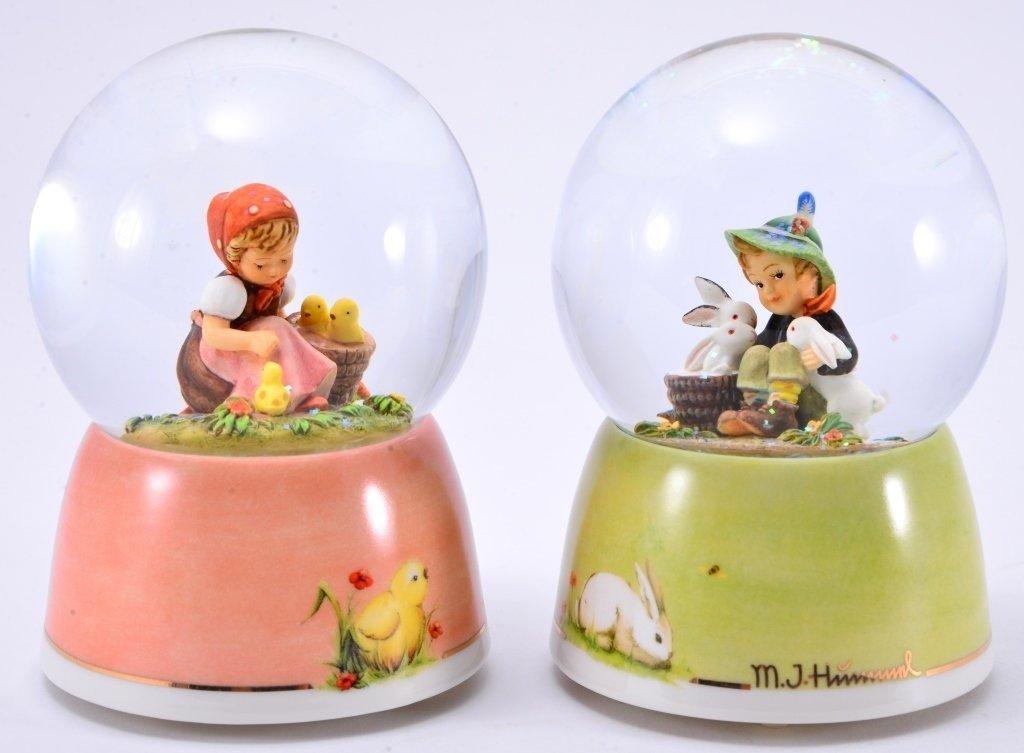 Hummel Water Globe Music Boxes - 3