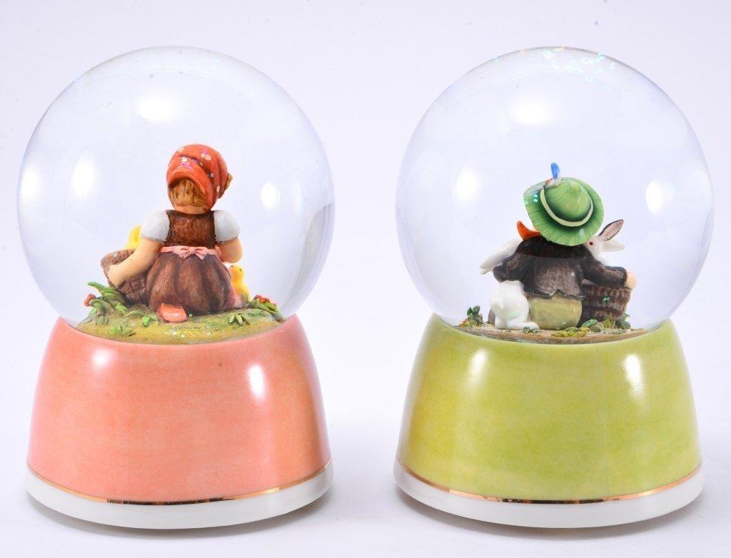 Hummel Water Globe Music Boxes - 4