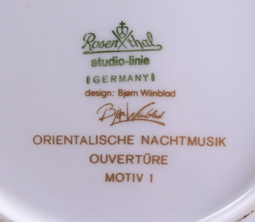 Hutschenreuther Vase, Rosenthal Plate Plus - 5