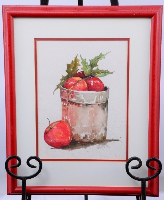 Walker Watercolor Still Life