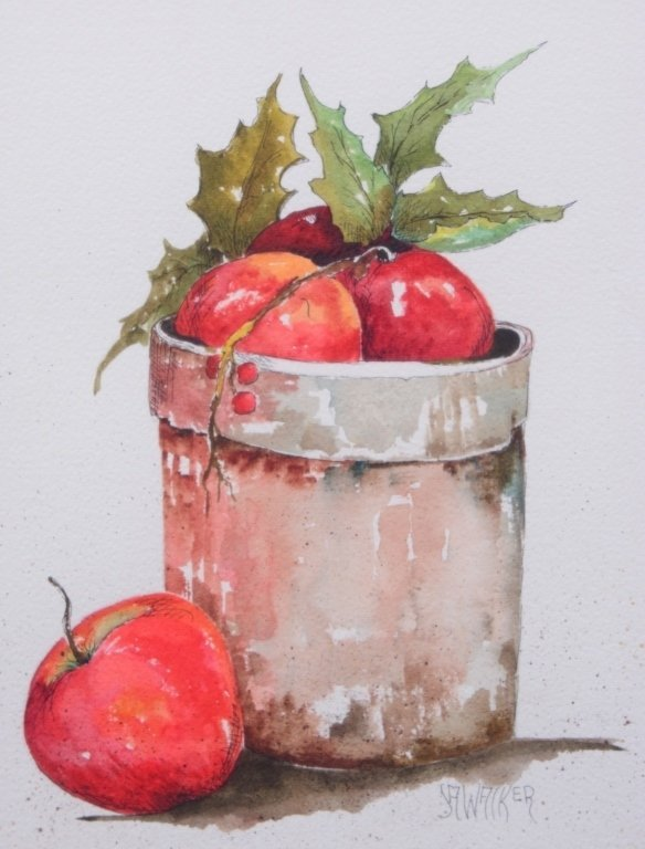 Walker Watercolor Still Life - 2