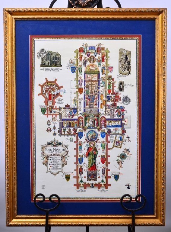 York Minster Plan