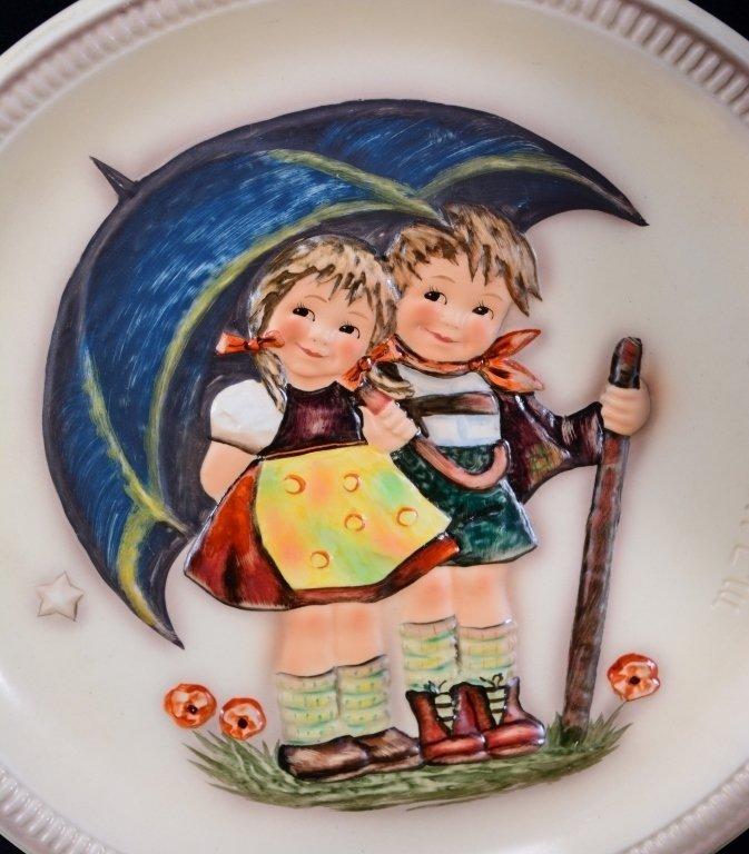 6 Hummel Plates Inc. 3 Anniversary Plates - 2