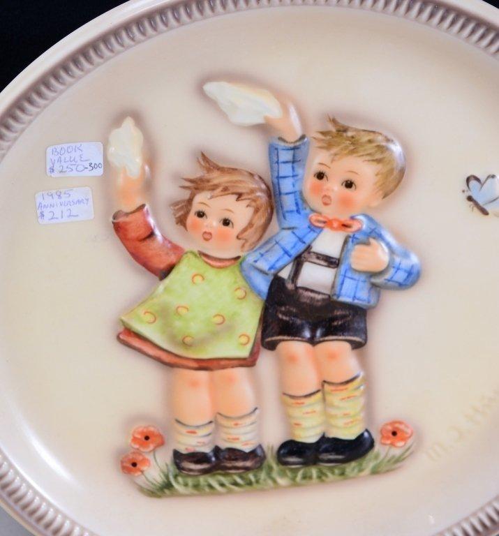 6 Hummel Plates Inc. 3 Anniversary Plates - 3