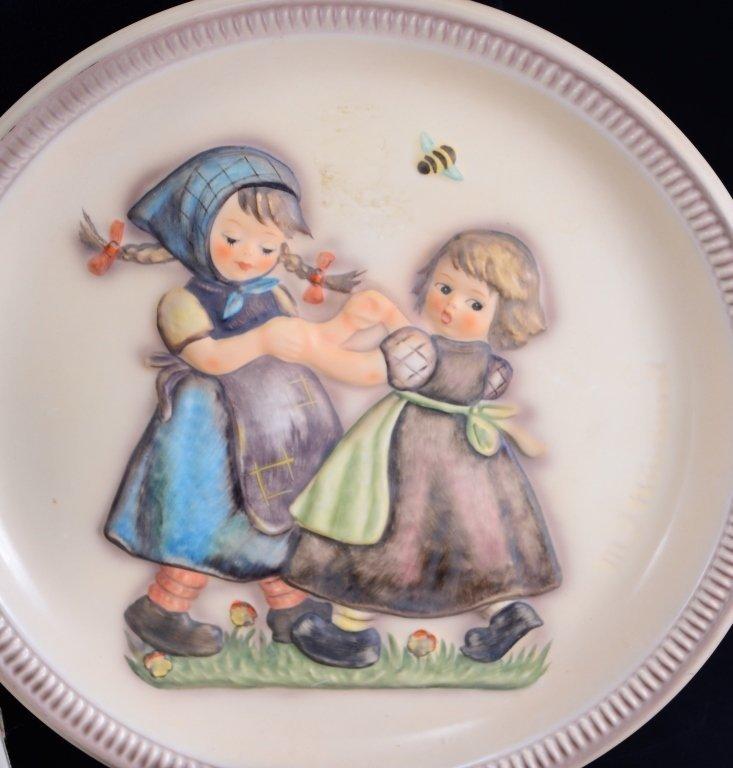6 Hummel Plates Inc. 3 Anniversary Plates - 4