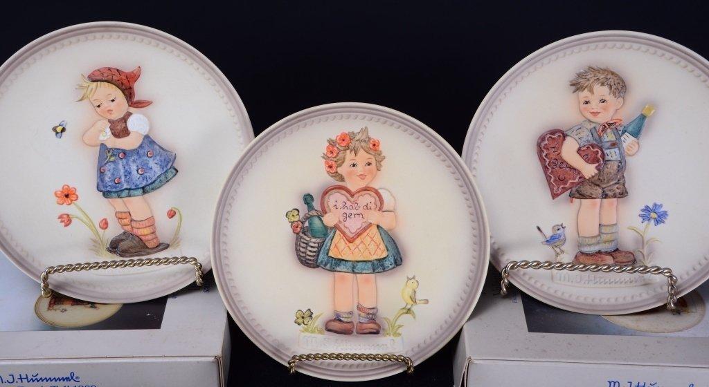 6 Hummel Plates Inc. 3 Anniversary Plates - 5