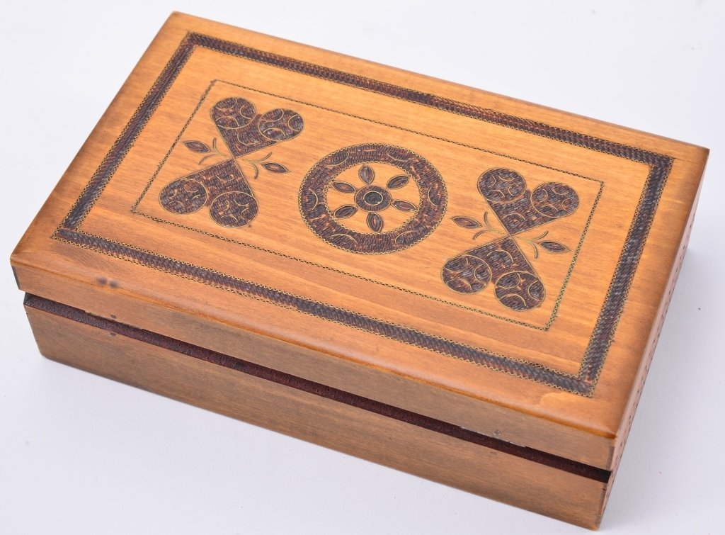 3 Vintage Wooden Boxes - 6