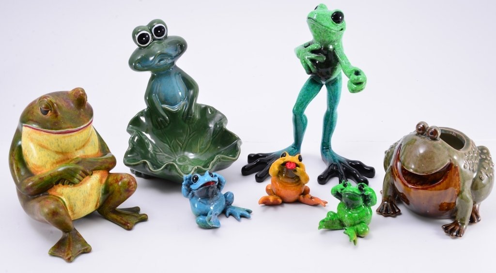 4 Kitty's Critters Frogs & More