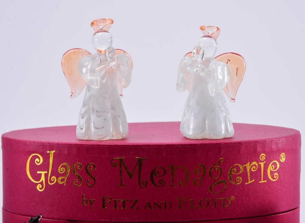 Boxed Fitz & Floyd Glass Menagerie - 2