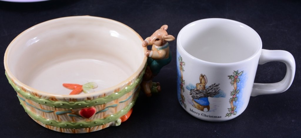 Beatrix Potter Book & Ornament Plus Ceramics - 2
