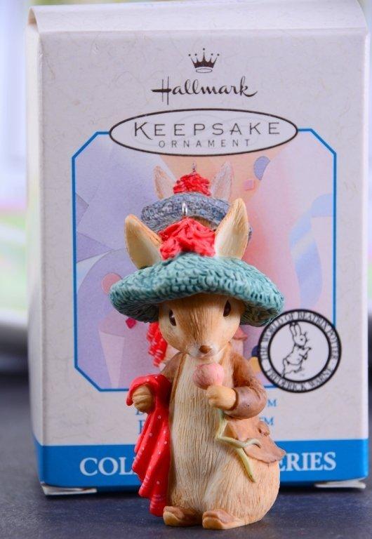 Beatrix Potter Book & Ornament Plus Ceramics - 3