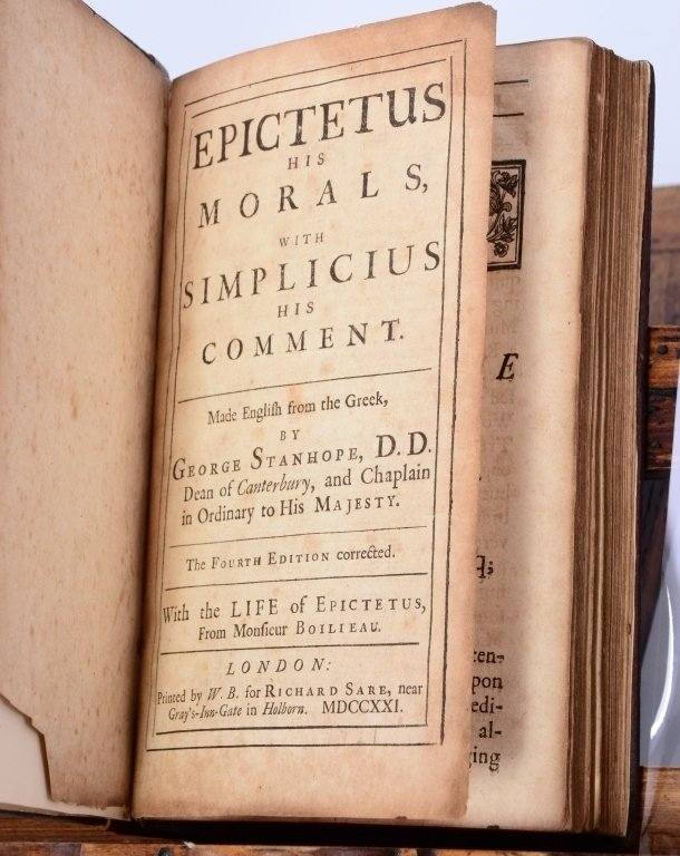George Stanhope's Epictetus - 3