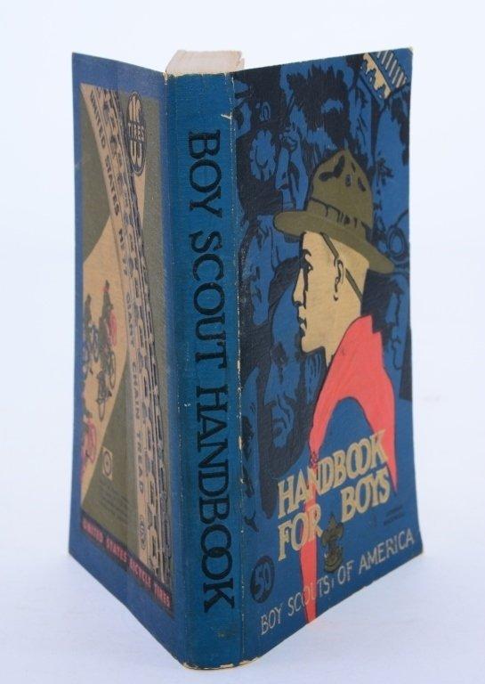 Boy Scout 1938 Revised Handbook