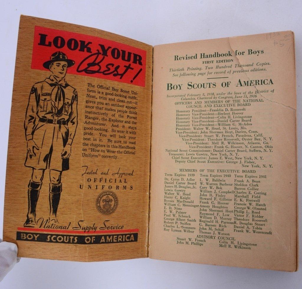 Boy Scout 1938 Revised Handbook - 2