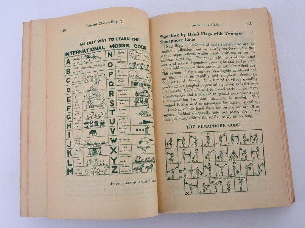 Boy Scout 1938 Revised Handbook - 3