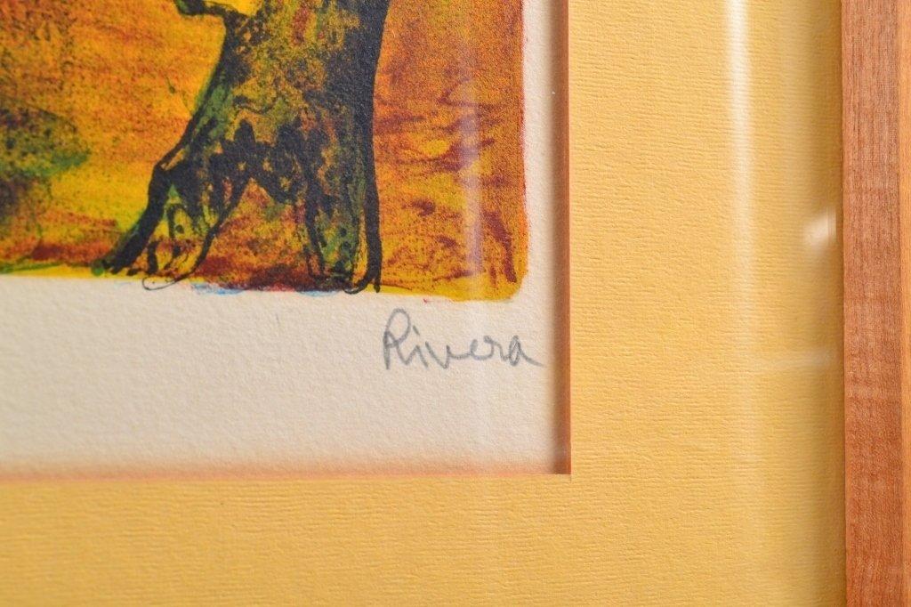 Rivera Ltd. Ed. Lithograph - 4