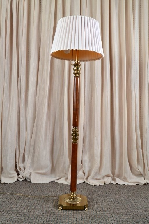 Brass Floor Lamp - 2