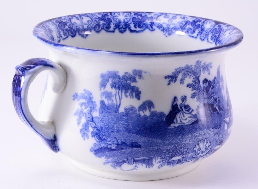 Flow Blue Chamber Pot