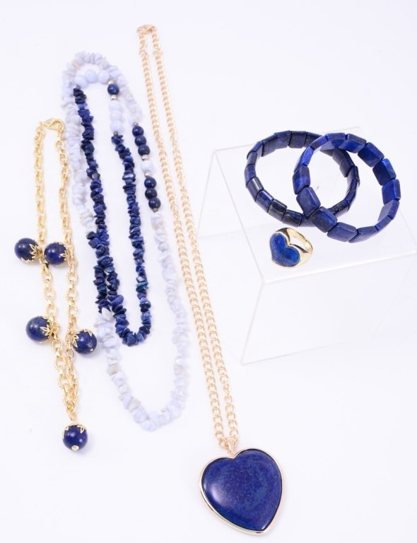 Lapis Costume Jewelry
