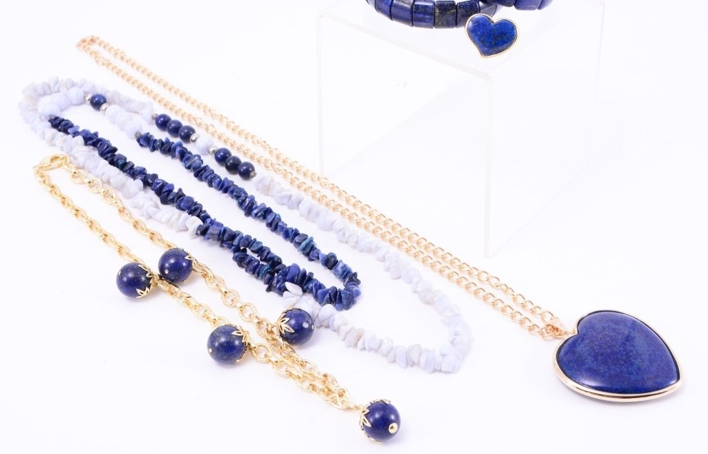 Lapis Costume Jewelry - 2