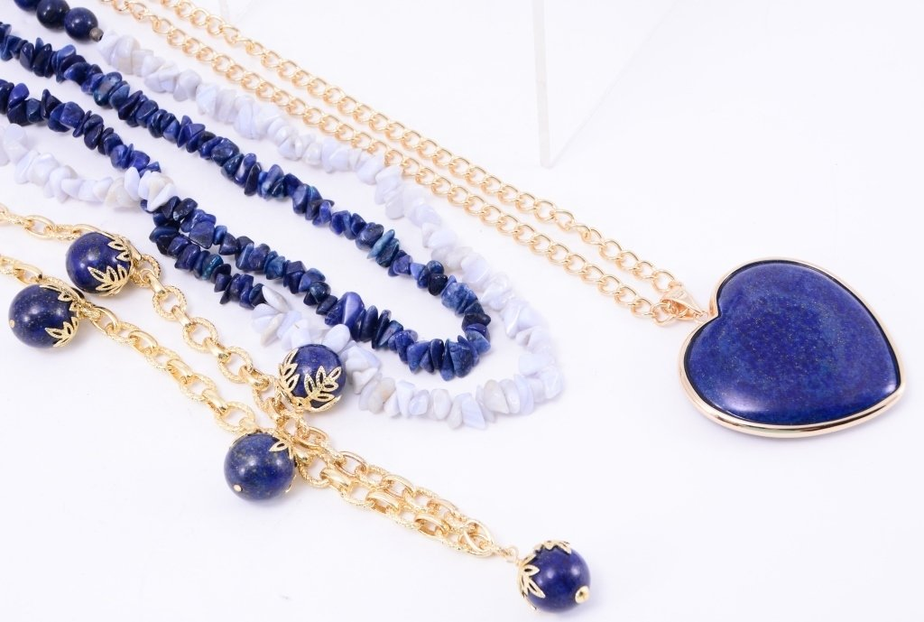 Lapis Costume Jewelry - 3