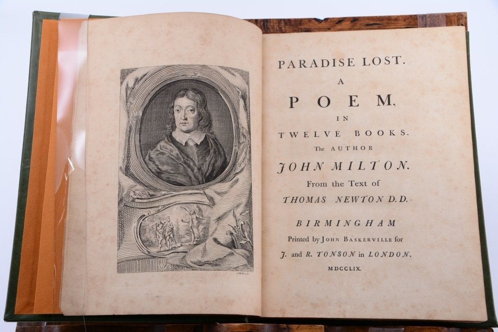 Milton's Paradise Lost A Poem in 12 Books - 2
