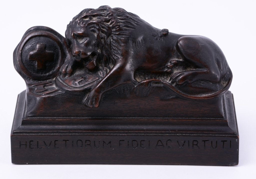 Carved Solid Mahogany Lion Bookends - 3