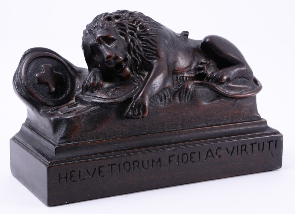Carved Solid Mahogany Lion Bookends - 5