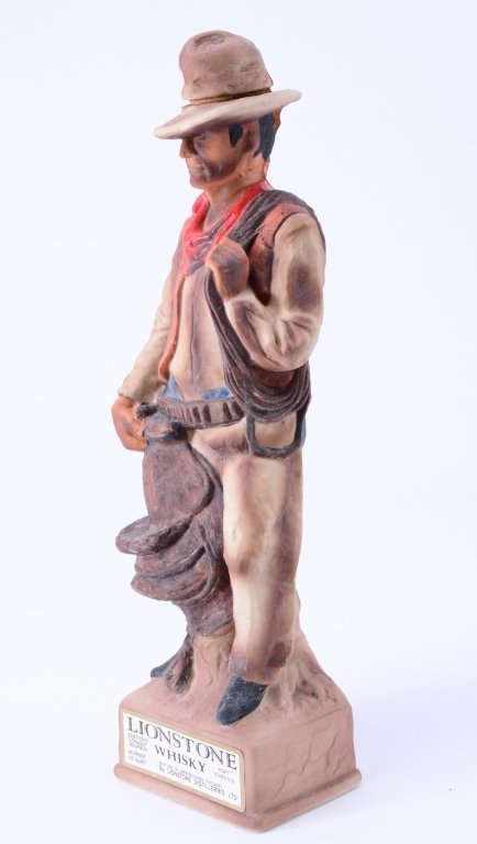 The Cowboy Lionstone Whiskey Decanter - 2