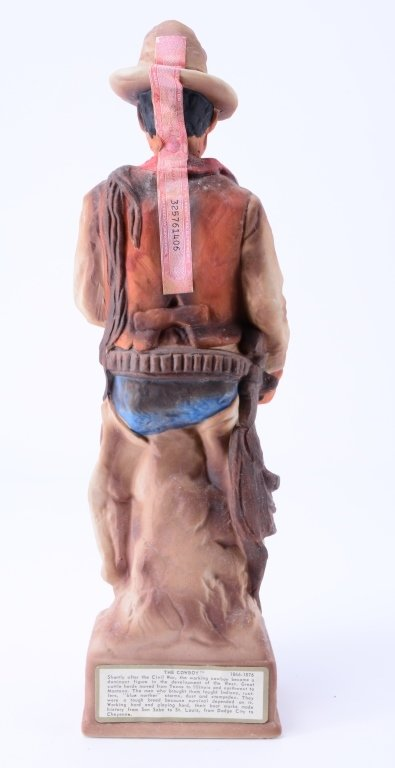The Cowboy Lionstone Whiskey Decanter - 3