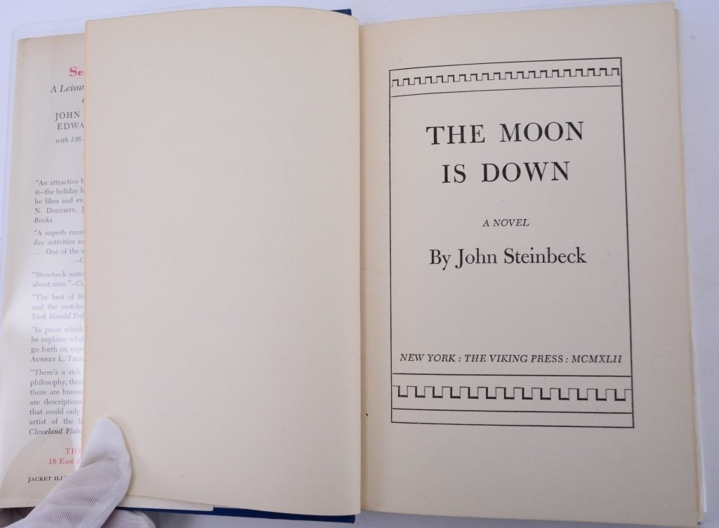John Steinbeck The Moon is Down - 2