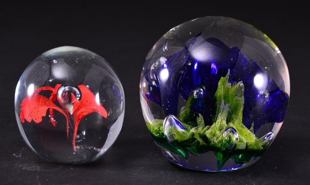 Two Collectible Paperweights - 2