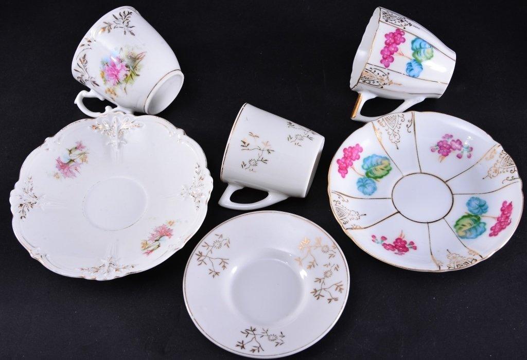 6 Demi-tasse Cups & Saucers - 3
