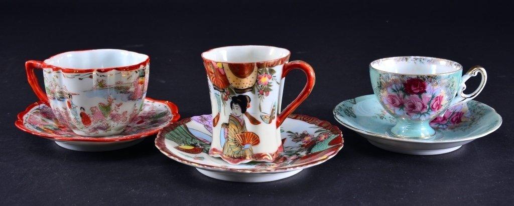 6 Demi-tasse Cups & Saucers - 5
