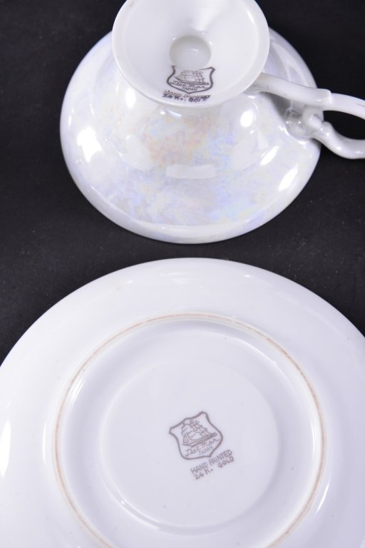 8 Collectible Porcelain Cups & Saucers - 6