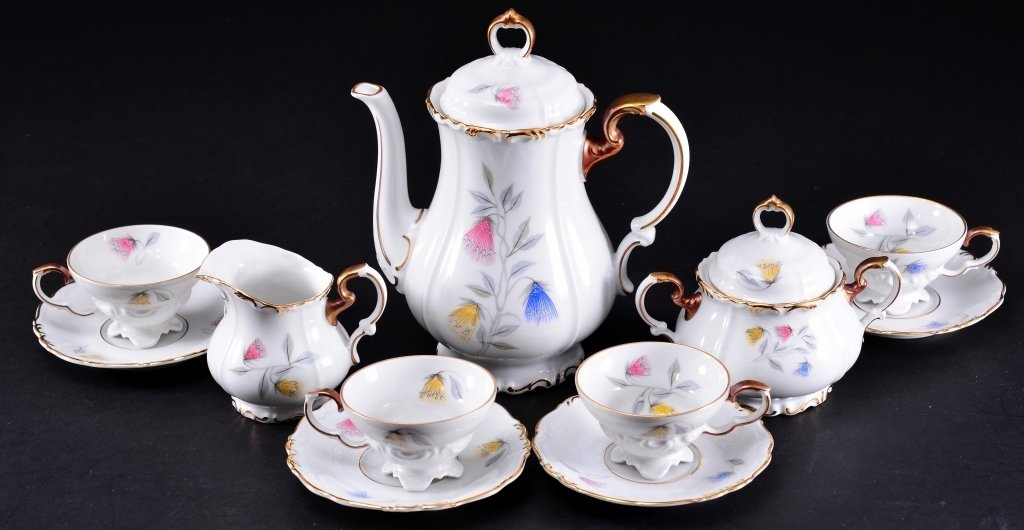Edelstein Bavaria Demi-tasse Tea Set