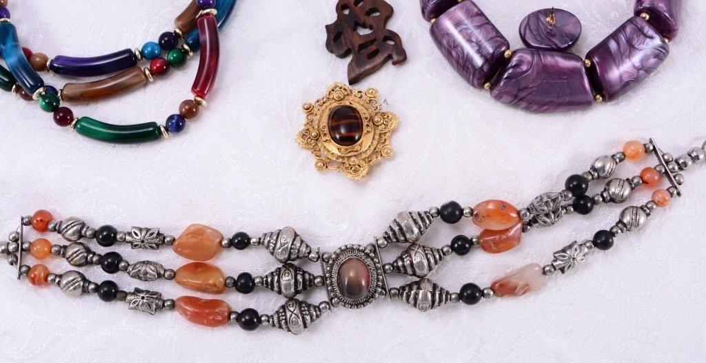 Colorful Estate Costume Jewelry - 4