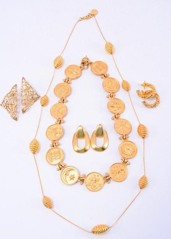 Gold Costume Jewelry