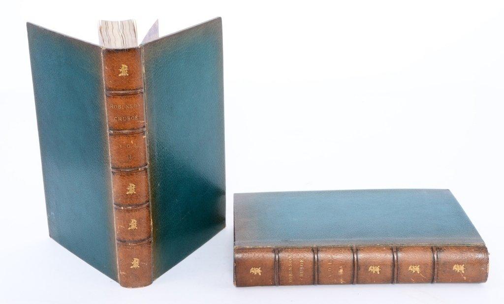 DeFoe's Life & Adventures of Robinson Crusoe